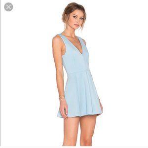 Ice Blue Mini Dress